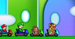 Mario Racing Tournament spel
