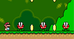 Super Mario World Mini spel