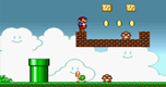 Super Mario Bros Flash spel
