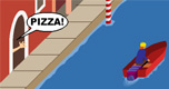 Pizza Boot spel