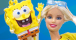 Barbie Loves Spongebob spel