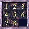 8 Square Slider Puzzle - Classic