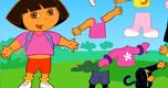 Dora Aankleden 3 spel