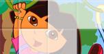 Dora Diego Puzzel spel