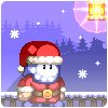 Kerstman en iced muffins