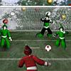 Kerstman footy challenge