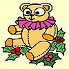 Kerstbeer kleuren