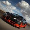 Optrekkende Bugatti Veyron