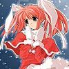 Meisje in de sneeuw puzzel