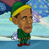 Obama vs Kerstman spel