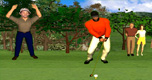 Tiger Golf spel