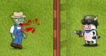cow vs zombie spel