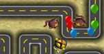 Balon verdediging 4 spel