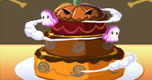 Halloween Cake Maken spel