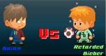 Barca vs Bieber spel