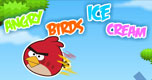 Angry Birds Ice Cream spel
