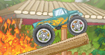 Monster Truck vs. Bos spel