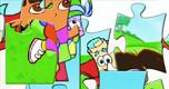 Dora Puzzel 1 spel