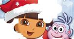 Dora Kerst Puzzel spel