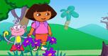 Dora En Het Spookachtige Bos spel