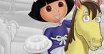Dora Kleurplaat 5 spel