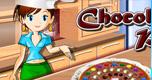 Chocolade Pizza Bakken