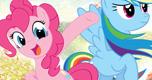 Pinkie & Rainbow Dash spel