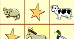 Animal Bingo spel