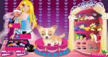 Barbie en lieve hond
