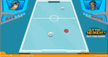 Electro Airhockey spel