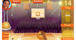 Flash basketball spel