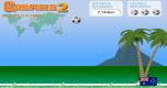 Garfield voetbalspel spel