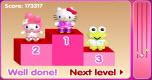Hello Kitty rolschaatsen spel