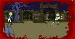 Simpsons zombie spel spel