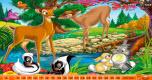 Verborgen nummers Bambi spel