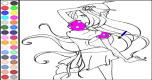 Winx Kleurplaat 3