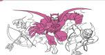 Batman Kleurplaat spel